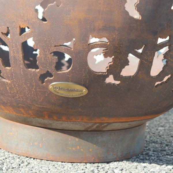 Kings Park Fire Pit Bowl