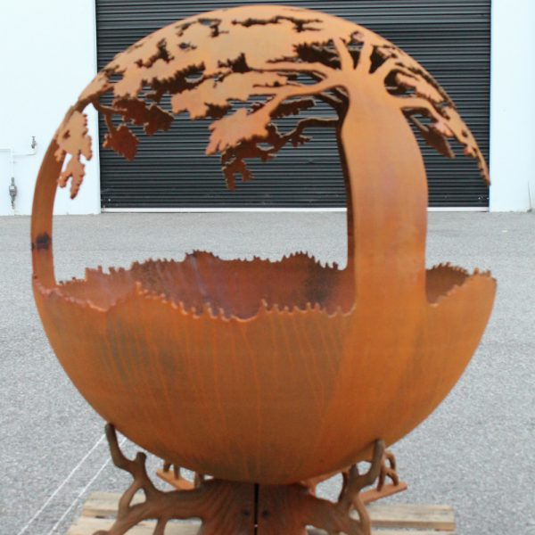 Boab Fire Pit Sphere