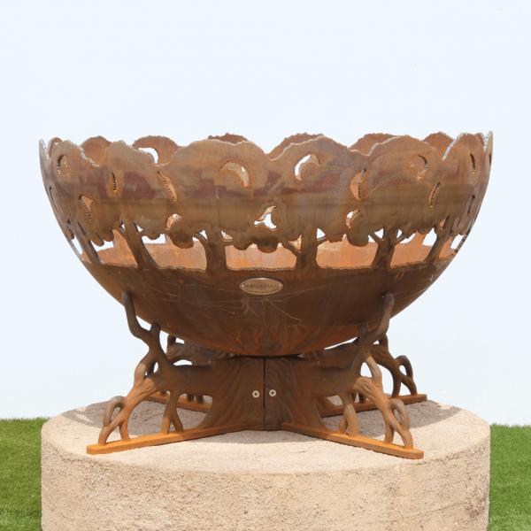 Karri Fire Pit Bowl