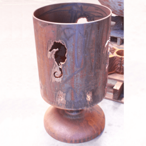 Brazier with Custom Image